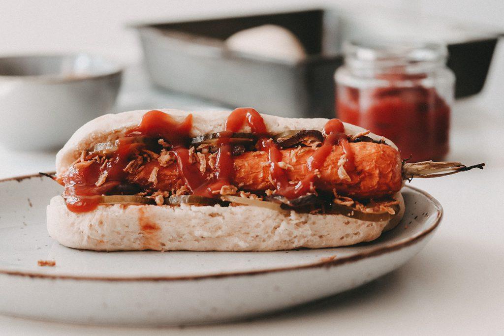 Hotdog vegan lenaeats