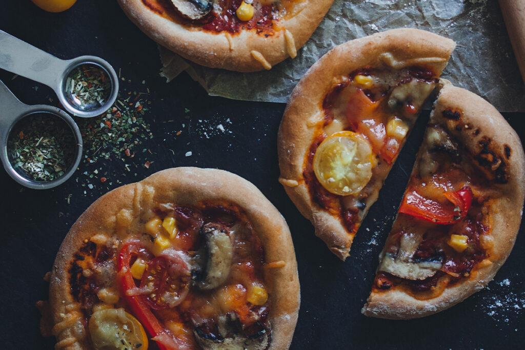 Vegane Pizza selber machen