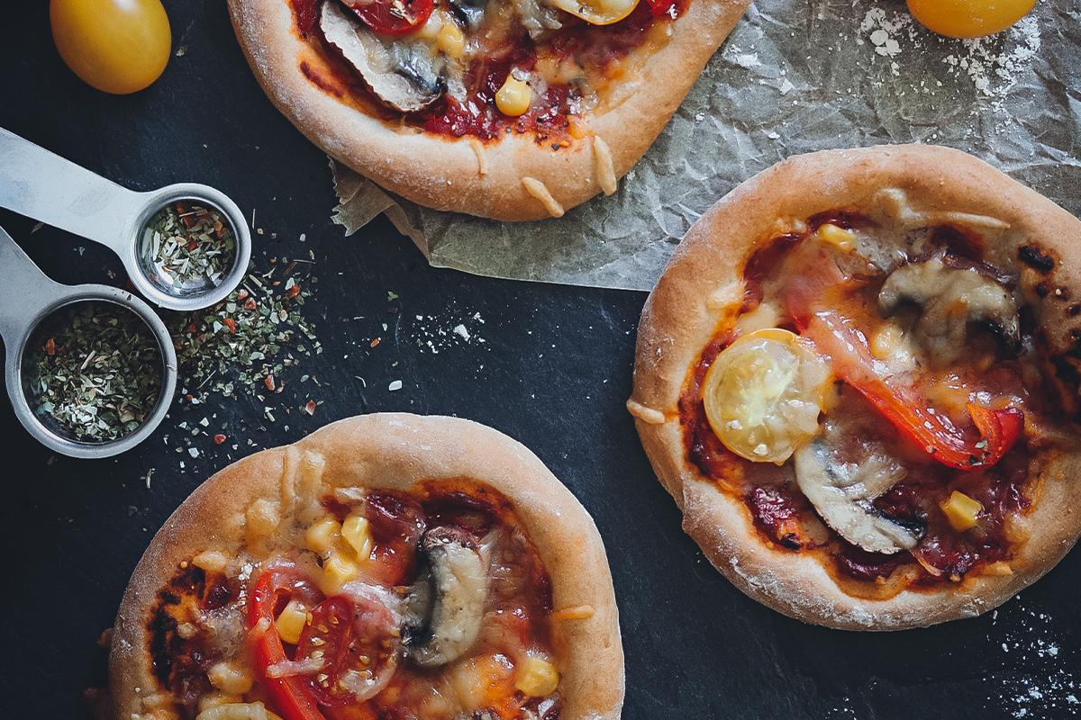 Vegane Pizza