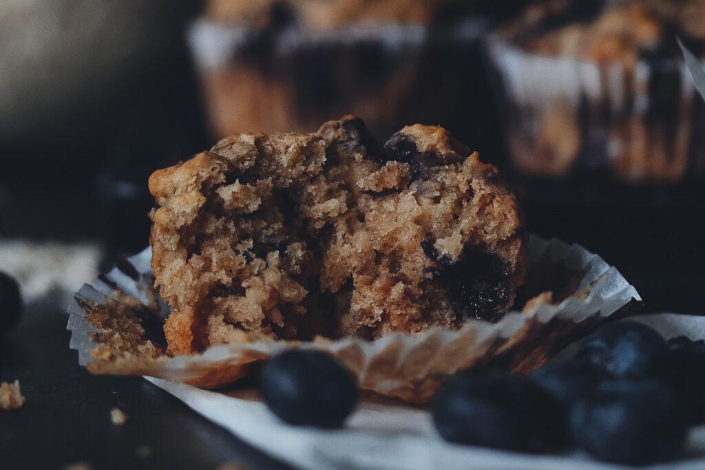 Blaubeer Muffins vegan
