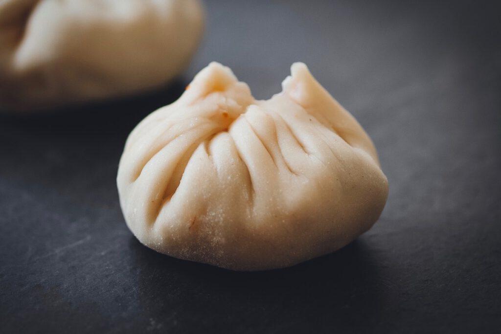 Dumplings gefaltet