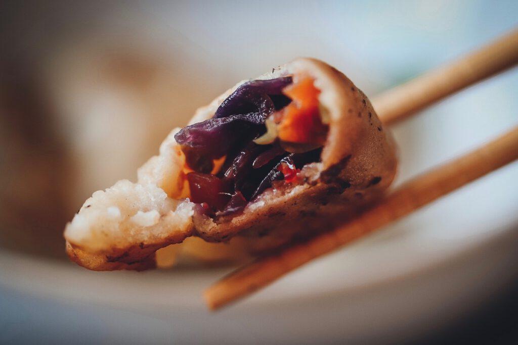 Vegane Dumplings selber machen mit Gemüsefüllung