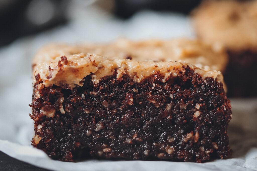 Brownie Stück
