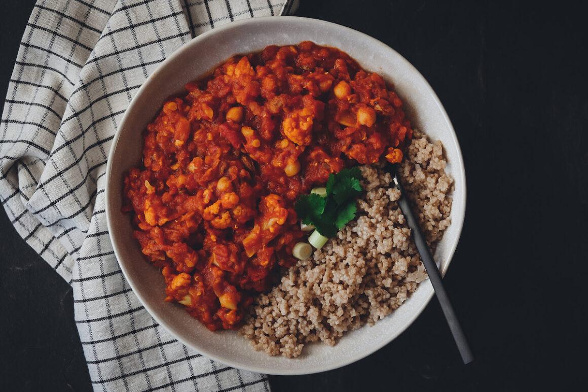 Linsen Dhal mit Quinoa