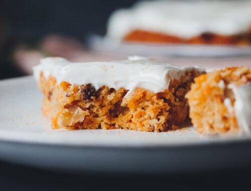 Veganer Carrot Cake Lenaeats