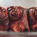 Zimtschnecken mit Schokolade